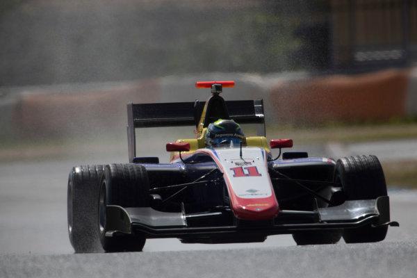 2017 GP3 Series Testing Estoril, Portugal. Thursday 23 March 2017 Ryan Tveter (USA, Trident). Action.  Photo: Alastair Staley/GP3 Series Media Service ref: Digital Image 580A3909