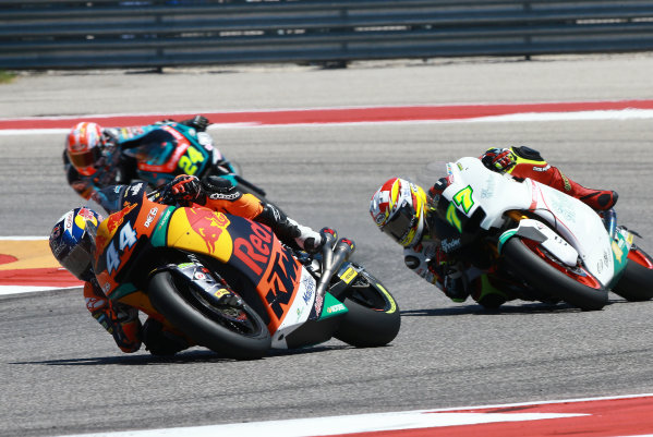 2017 Moto2 Championship - Round 3 Circuit of the Americas, Austin, Texas, USA Sunday 23 April 2017 Miguel Oliveira, Red Bull KTM Ajo World Copyright: Gold and Goose Photography/LAT Images ref: Digital Image Moto2-R-500-2973