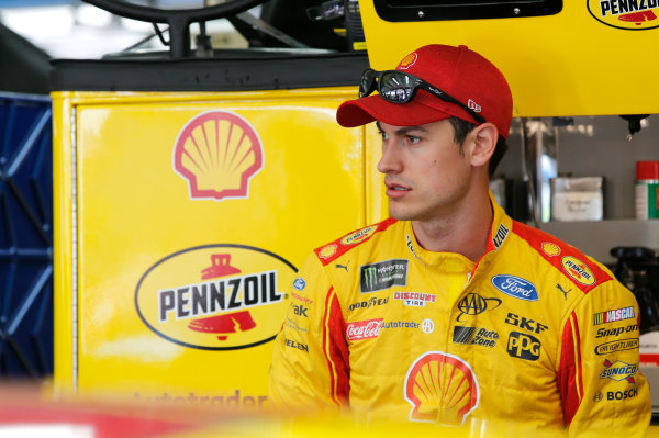 Monster Energy NASCAR Cup Series Monster Energy NASCAR All-Star Race Charlotte Motor Speedway, Concord, NC USA Friday 19 May 2017 Joey Logano, Team Penske, Shell Pennzoil Ford Fusion World Copyright: Matthew T. Thacker LAT Images ref: Digital Image 17CLT1mt1131