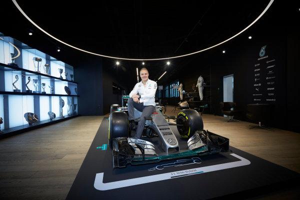 Mercedes F1 Driver Announcement Mercedes AMG Factory, Brackley, UK Monday 16 January 2017 Valtteri Bottas is announced as the new Mercedes AMG F1 driver for 2017. World Copyright: Steve Etherington/LAT Photographic ref: Digital Image SNE11758