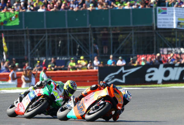 2017 MotoGP Championship - Round 12 Silverstone, Northamptonshire, UK. Sunday 27 August 2017 Pol Espargaro, Red Bull KTM Factory Racing World Copyright: Gold and Goose / LAT Images ref: Digital Image 689766