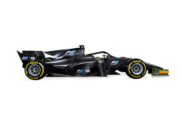 Autodromo Nazionale di Monza, Italy. Tuesday 22 August 2017 Studio image of the new 2018 F2 car. Photo: Zak Mauger/FIA Formula 2 ref: Digital Image 1A_IMG_0051