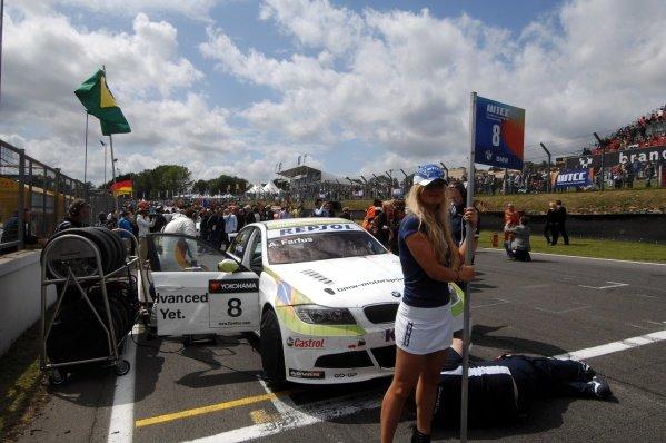 Augusto Farfus (BRA), BMW 320si, won race 2. FIA World Touring Car Championship, Rd8, Brands Hatch, England, 19 July 2009.
