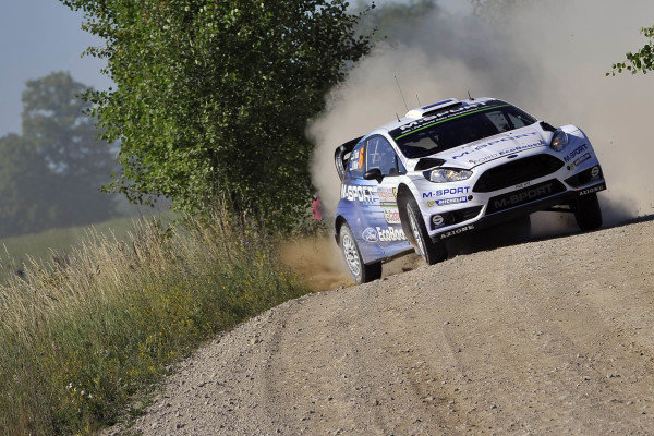 Ott Tanak (EST) / Raigo Molder (EST) Ford Fiesta RS WRC at FIA World Rally Championship, Rd7, Lotos 71st Rally Poland, Preparations & Shakedown, Mikolajki, Poland, Thursday 2 July 2015.