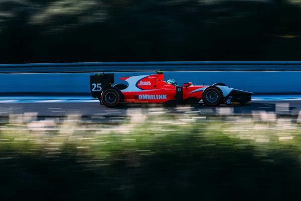 2016 GP2 Series Testing. Jerez, Spain. Thursday 31 March 2016 Jimmy Eriksson (SWE) Arden International  World Copyright: Malcolm Griffiths/LAT Photographic. ref: Digital Image F80P8763