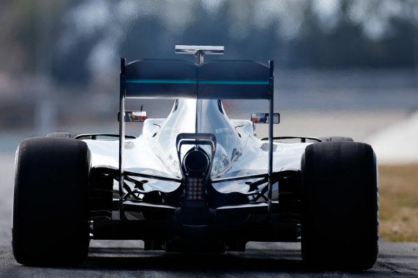 Circuit de Catalunya, Barcelona, Spain Thursday 25 February 2016. Nico Rosberg, Mercedes F1 W07 Hybrid. World Copyright: Alastair Staley/LAT Photographic ref: Digital Image _79P4713