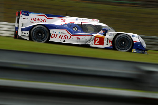 2015 FIA World Endurance Championship, Nurburgring, Germany. 28th - 30th August 2015. Alexander Wurz / Stephane Sarrazin / Mike Conway Toyota Racing Toyota TS040 Hybrid . World Copyright: Ebrey / LAT Photographic.