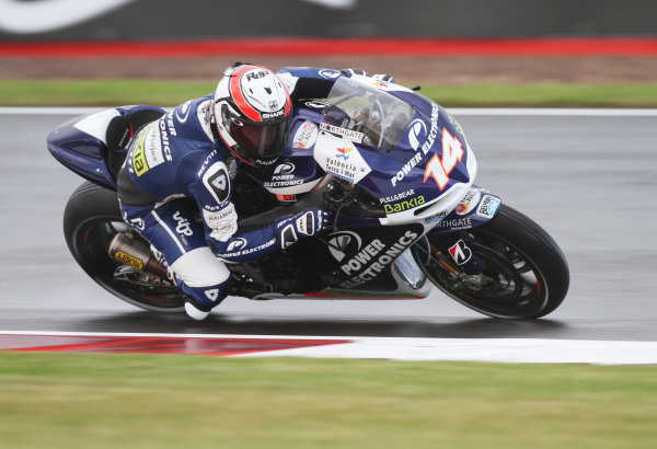 British Grand Prix. Silverstone, England. 15th-17th June 2012. Randy De Puniet, Aspar ART. World Copyright: Kevin Wood/LAT Photographic. ref: Digital Image IMG_6431a