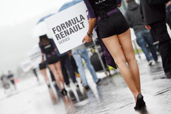 FRANCORCHAMPS (BEL) JUNE 01-03 2012 - World Series by Renault at Cuircuit de Spa Francorchamps. Grid. © 2012 RONALD FLEURBAAIJ / DUTCH PHOTO AGENCY / LAT PHOTOGRAPHIC
