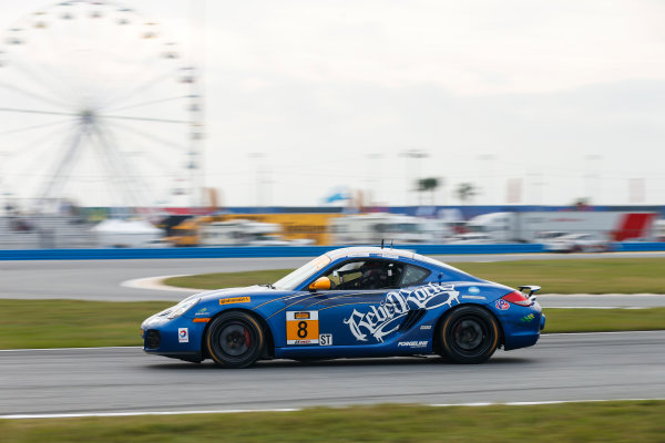 26-27 January, 2017, Daytona Beach, Florida USA 8, Porsche, Porsche Cayman, ST, Dion von Moltke World Copyright: Jake Galstad/LAT Images