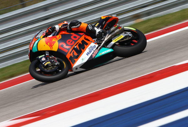 2017 Moto2 Championship - Round 3 Circuit of the Americas, Austin, Texas, USA Friday 21 April 2017 Miguel Oliveira, Red Bull KTM Ajo World Copyright: Gold and Goose Photography/LAT Images ref: Digital Image Moto2-500-2158