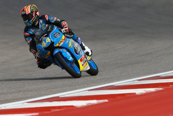 2017 Moto3 Championship - Round 3 Circuit of the Americas, Austin, Texas, USA Friday 21 April 2017 Aron Canet, Estrella Galicia 0,0 World Copyright: Gold and Goose Photography/LAT Images ref: Digital Image Moto3-500-1516