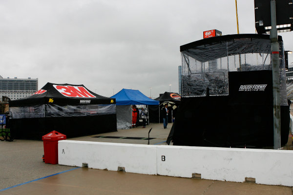 4-6 April, 2014, Fort Worth, Texas USA Rain postponement Greg Biffle ©2014, Russell LaBounty LAT Photo USA