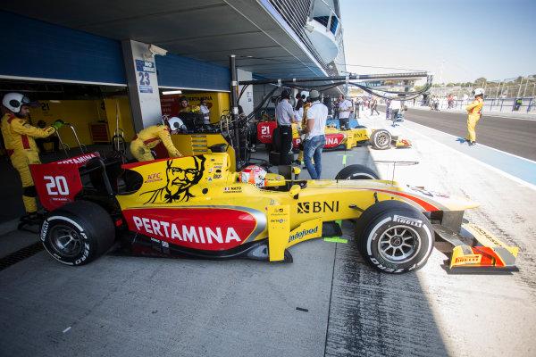 2017 FIA Formula 2 Round 10. Circuito de Jerez, Jerez, Spain. Saturday 7 October 2017. Norman Nato (FRA, Pertamina Arden).  Photo: Andrew Ferraro/FIA Formula 2. ref: Digital Image _FER1514