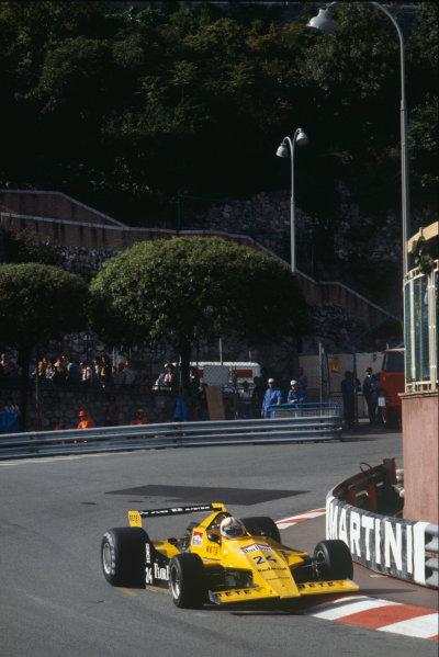 Monte Carlo, Monaco. 27 May 1979. G. Brancatelli (Merzario A2-Ford), DNPQ, action.  World Copyright: LAT Photographic. Ref: 79MON36.