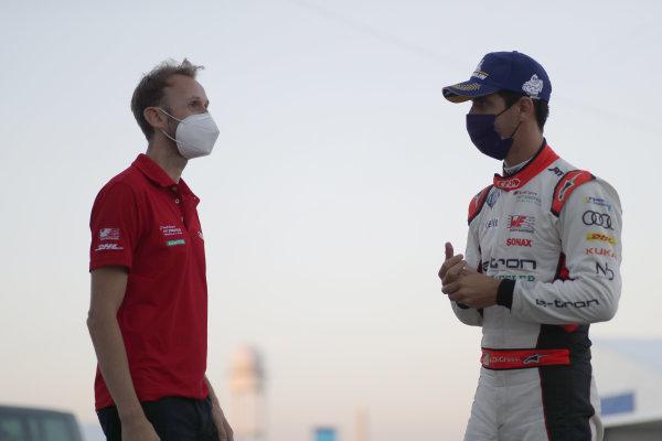 René Rast (DEU), Audi Sport ABT Schaeffler and Lucas Di Grassi (BRA), Audi Sport ABT Schaeffler