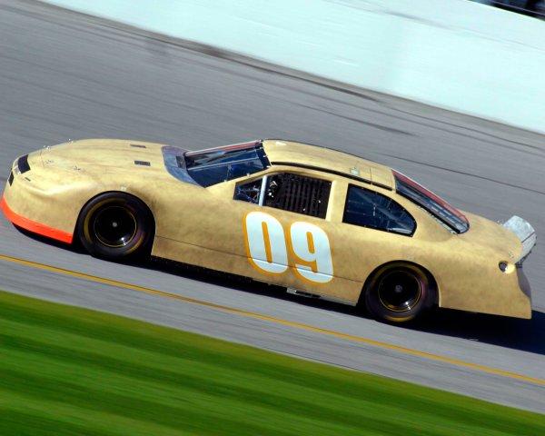 2003 NASCAR TestingDaytona, USA. 7th January 2003 Bill Elliott (Dodge), action.World Copyright: Greg Aleck/ LAT Photographic ref: Digital Image Only