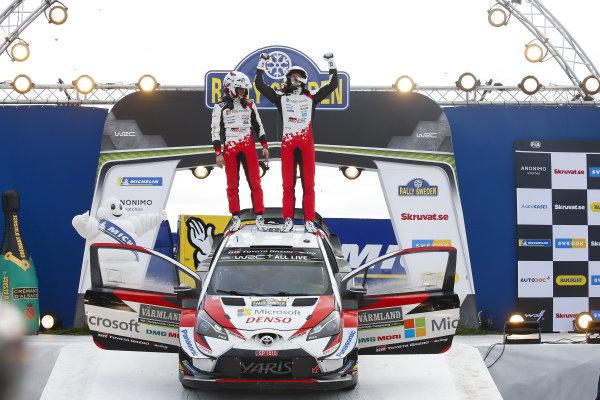 Ott Tänak, Martin Jarveoja, Toyota Gazoo Racing, Toyota Yaris WRC 2019