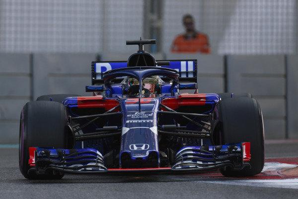 Sean Gelael, Toro Rosso STR13 Renault.