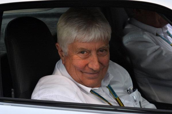 Herbie Blash (GBR) FIA Delegate. Formula One World Championship, Rd16, Russian Grand Prix, Practice, Sochi Autodrom, Sochi, Krasnodar Krai, Russia, Friday 10 October 2014.