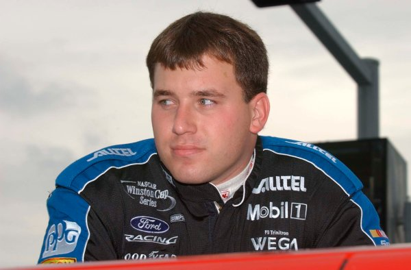 2002 NASCAR Atlanta Motor Speedway, October 25, 2002 NAPA 500/Aaron 's 312Ryan Newman,-Robt LeSieur2002LAT Photographic