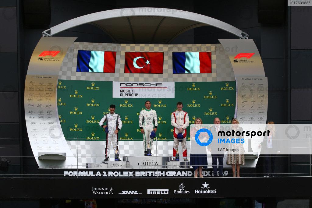 Podium   - Porsche Supercup Race