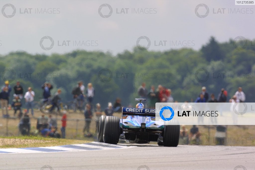 2001 British Grand Prix - Friday Practice