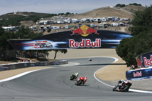 USA Laguna Seca 23-25 July 2010Rossi Hayden and Spies chase Dovizioso