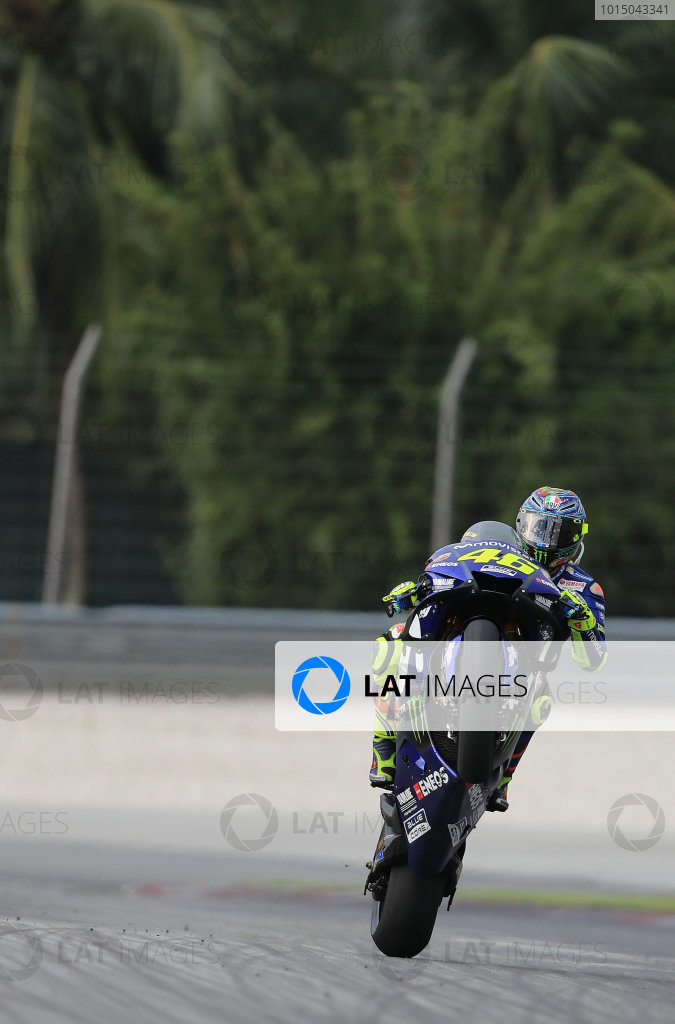 2018 MotoGP Championship - Sepang test, Malaysia Tuesday 30 January 2018 Valentino Rossi, Yamaha Factory Racing World Copyright: Gold and Goose / LAT Images ref: Digital Image 1128