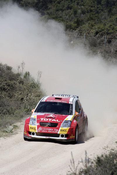 2005 World Rally Championship Rallye d'Italia, Sardinia, Italy. 29th April - 1st May 2005Daniel Sordo (Citroen C2), action.World Copyright: McKlein/LAT Photographic ref: Digital Image Only