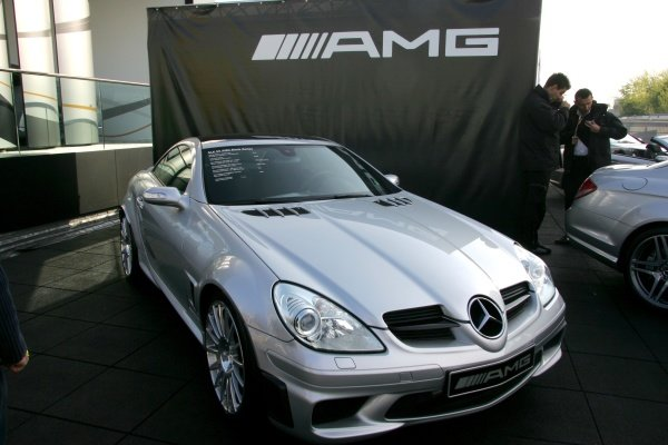 AMG Mercedes show car DTM, Rd 1, Hockenheim, Germany, Sunday 22 April 2007. DIGITAL IMAGE