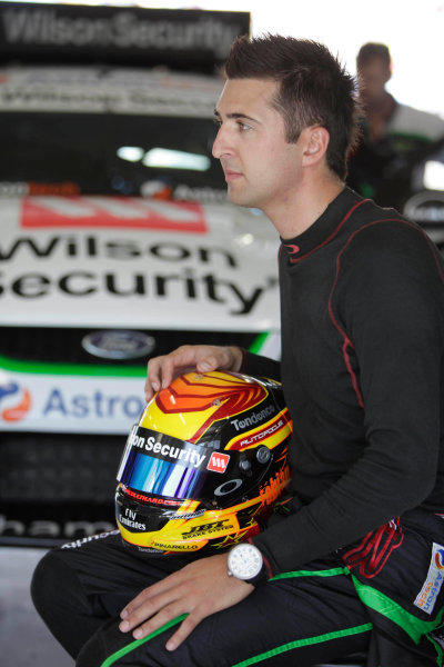 Reed Park Street Circuit, Townsville, Queensland.11th - 12th July 2009.Car 111, Fabian Coulthard, Ford Falcon FG, Paul Cruickshank Racing, PCR, Wilson Security Racing.World Copyright: Mark Horsburgh/LAT Photographic.ref: Digital Image 111-Coulthard-EV06-09-10029