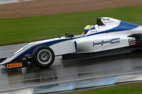 2016 BRDC F3 Championship, Donington Park, Leicestershire. 10th - 11th September 2016. Harrison Scott (GBR) HHC Motorsport BRDC F3. World Copyright: Ebrey / LAT Photographic.