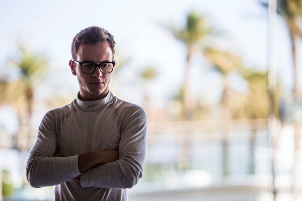 2016 GP3 Series Test 5. Yas Marina Circuit, Abu Dhabi, United Arab Emirates. Thursday 1 December 2016. Anthoine, Hubert (FRA, ART Grand Prix)  Photo: Sam Bloxham/GP3 Series Media Service. ref: Digital Image _SLB2998