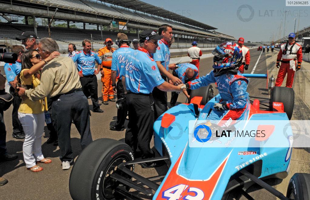 15-21 May 2010, Indianapolis, Indiana, USAJohn Andretti©2010, Walt Kuhn, USALAT Photographic
