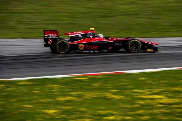 2017 FIA Formula 2 Round 5. Red Bull Ring, Spielberg, Austria. Friday 7 July 2017. Alexander Albon (THA, ART Grand Prix).  Photo: Zak Mauger/FIA Formula 2. ref: Digital Image _54I6516