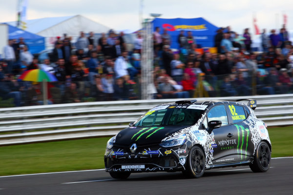 2017 Renault Clio Cup, Snetterton. 29th-30th July 2017, Nicolas Hamilton (GBR) WDE Racing Renault Clio Cup World copyright. JEP/LAT Photographic