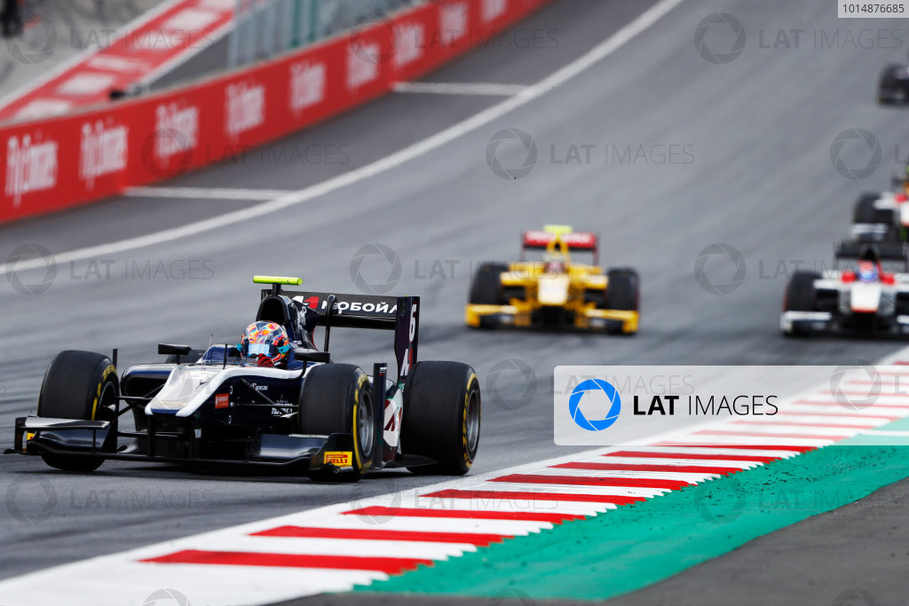Red Bull Ring, Spielberg, Austria. Saturday 8 July 2017 Artem Markelov (RUS, RUSSIAN TIME)  Photo:  Dunabr/FIA Formula 2 ref: Digital Image _31I6764