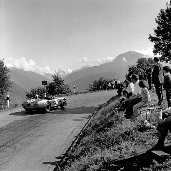 Sierre Montagna-Crans, Switzerland. 30th August 1964.