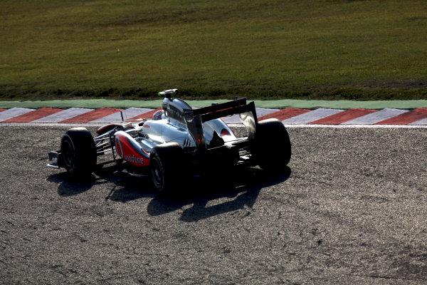 Suzuka Circuit, Suzuka, Japan.7th October 2011.Jenson Button, McLaren MP4-26 Mercedes. Action. World Copyright: Glenn Dunbar/LAT Photographicref: Digital Image IMG_2618