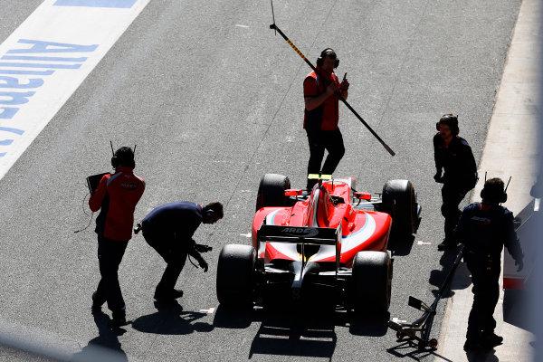 2016 GP2 Series Test 1. Circuit de Catalunya, Barcelona, Spain. Friday 11 March 2016. Nabil Jeffri (MAS, Arden International)  World Copyright: Sam Bloxham/LAT Photographic. ref: Digital Image _R6T9154