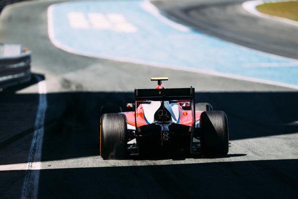 2016 GP2 Series Testing. Jerez, Spain. Thursday 31 March 2016 Sergey Sirotkin (RUS) ART Grand Prix  World Copyright: Malcolm Griffiths/LAT Photographic. ref: Digital Image _G7C9498