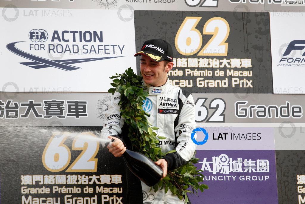 2015 Macau Formula 3 Grand Prix Circuit de Guia, Macau, China 18th - 22nd November 2015 Charles Leclerc (MON) Van Amersfoort Racing Dallara Volkswagen World Copyright: XPB Images/LAT Photographic ref: Digital Image 2015-Macau-F3-AT2-3948