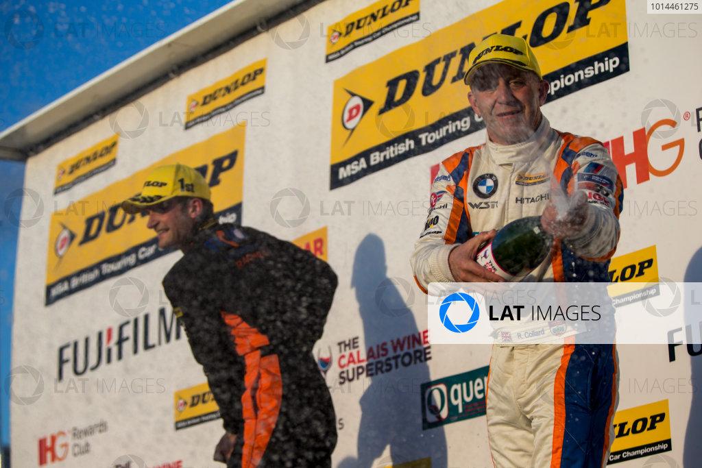 2015 British Touring Car Championship, Silverstone, Northamptonshire, England. 26th - 27th September 2015. Rob Collard (GBR) WSR BMW 125i M Sport.  World Copyright: Zak Mauger/LAT Photographic. ref: Digital Image _L0U4893