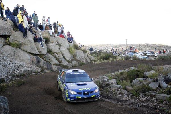 2007 FIA World Rally Champs. Round 6Rally Argentina, 3 May - 6 May Toshihiro  Arai, Subaru, actionWorld Copyright: McKlein/LAT