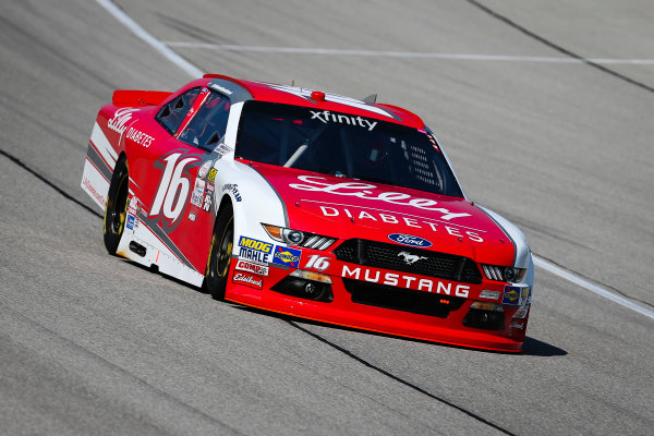 NASCAR XFINITY Series TheHouse.com 300 Chicagoland Speedway, Joliet, IL USA Friday 15 September 2017 Ryan Reed, Lilly Diabetes Ford Mustang World Copyright: Barry Cantrell LAT Images