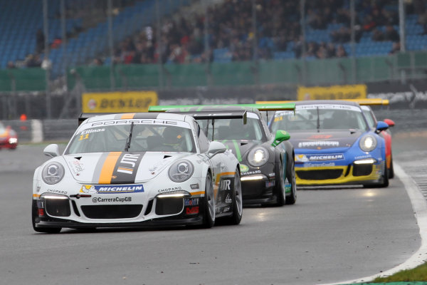 2017 Porsche Carrera Cup, Silverstone, Northants, UK. 16th-17th September 2017 Tio Elinas (CYP) JTR Porsche Carrera Cup  World copyright. JEP/LAT Images