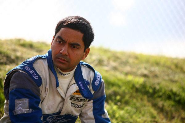 Snetterton, Norfolk. 3rd - 5th August 2012.Abdul Ahmed (USA) Don Hardman Automotive Ray GR10.World Copyright: Ebrey/LAT Photographic.
