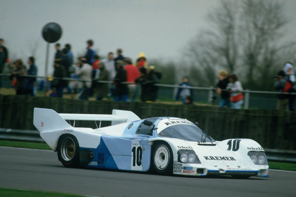 Silverstone, England. 4th May 1986. Rd 2.