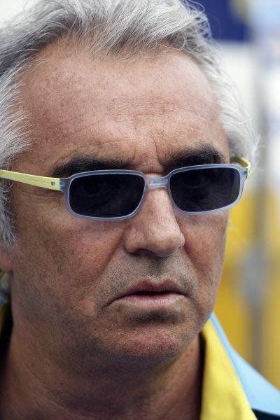 2006 Hungarian Grand Prix - Saturday Qualifying Hungaroring, Budapest, Hungary. 3rd - 6th August. Flavio Briatore, portrait. World Copyright: Charles Coates/LAT Photographic ref: Digital Image ZK5Y4042